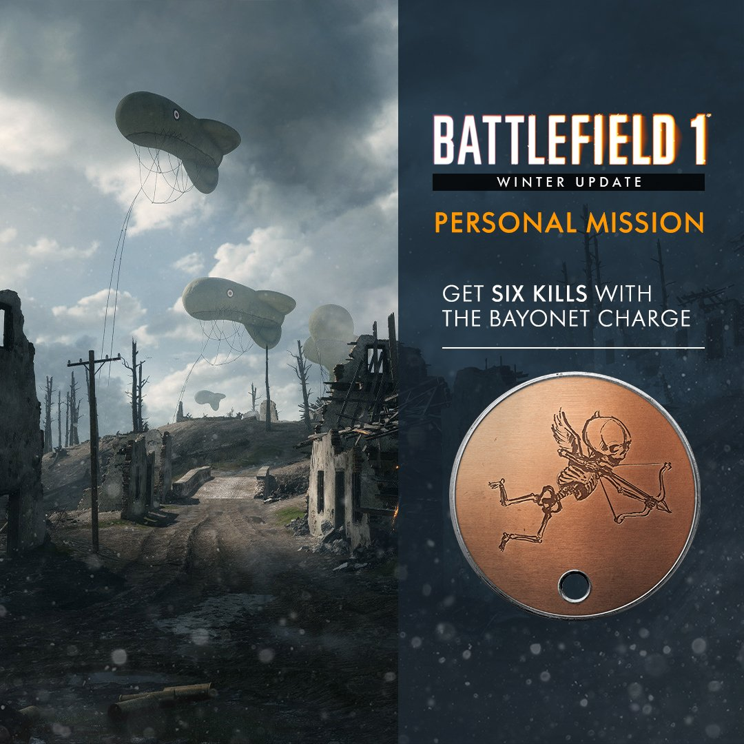 new bf1 personal mission taw the art of warfare premier time to get up close and personal if you want the valentine s dog tag mission on until feb 20